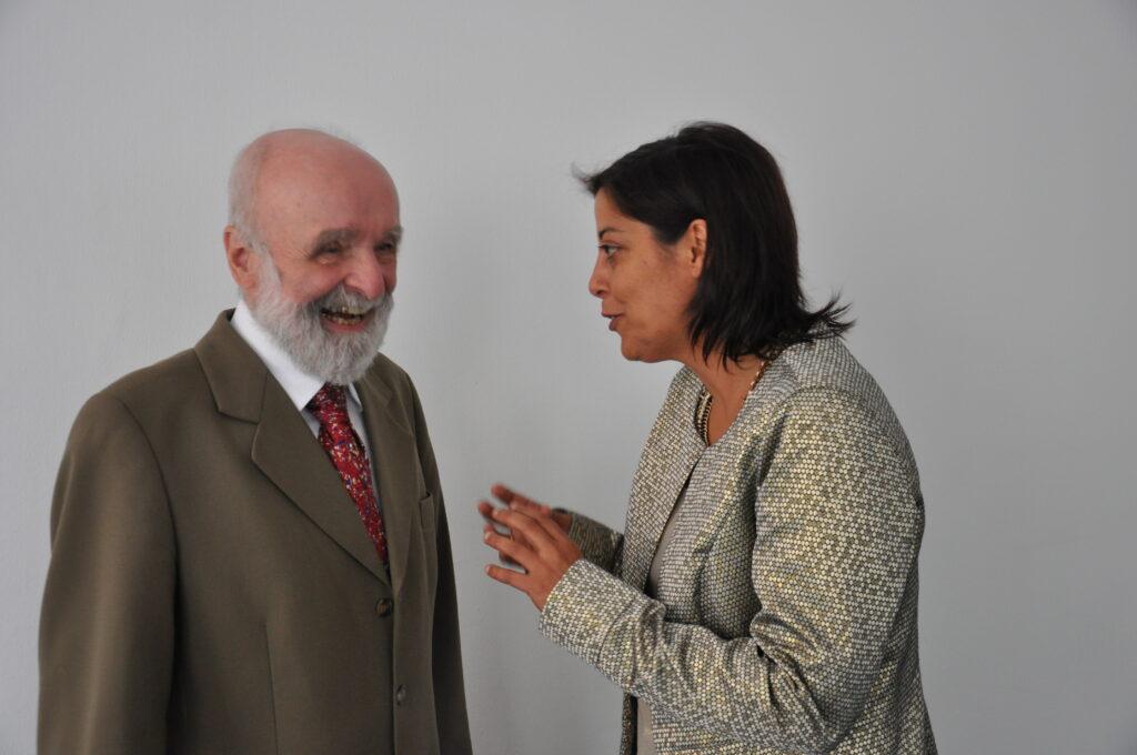Ulrich Engel e María José Domínguez